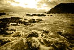 Sunrise on the coast Royalty Free Stock Image