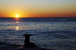 Sunrise on the coast Stock Photos
