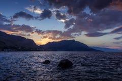 Sunrise Coastline Royalty Free Stock Image