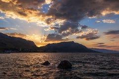 Sunrise Coastline Stock Image