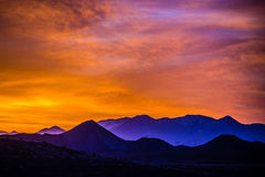 Sunrise colorado rocky mountains Stock Photography