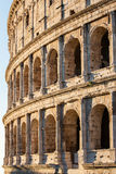 Sunrise Colosseum in Rome Royalty Free Stock Photography
