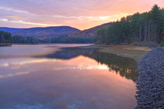 Sunrise on Cooper Lake Royalty Free Stock Images