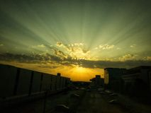 Corporate sunrise stock images