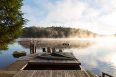 Sunrise at the cottage Royalty Free Stock Photo