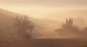 Sunrise at countryside landscape Royalty Free Stock Image