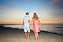 Sunrise couple Stock Photos
