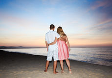 Sunrise couple Royalty Free Stock Photos