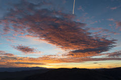 Sunrise at Dante's View, Death Valley National Park Stock Photos