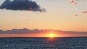 Sunrise dawn time lapse sea stock footage