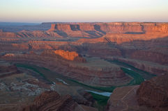 Sunrise on Dead Horse Point Royalty Free Stock Images