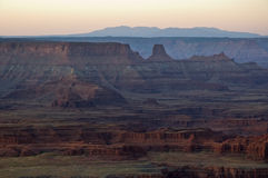 Sunrise on Dead Horse Point Royalty Free Stock Image