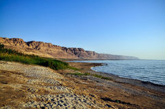 Sunrise in the Dead Sea Royalty Free Stock Photos
