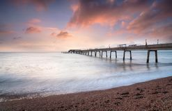 Sunrise at deal in Kent Royalty Free Stock Photo