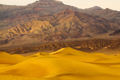 Sunrise in Death Valley Stock Photo
