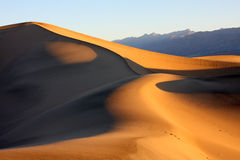 Sunrise in death valley Stock Images