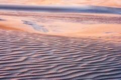 Sunrise on desert Royalty Free Stock Images