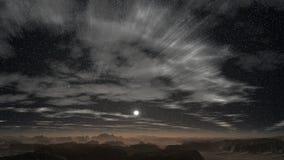 Sunrise in the desert stock video footage