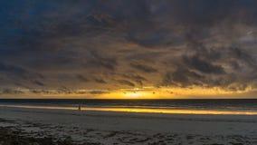 Sunrise on Diani Beach Royalty Free Stock Photos