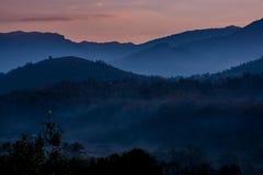 Sunrise at Doi Inthanon Royalty Free Stock Images