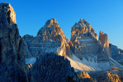 Sunrise in the Dolomites Royalty Free Stock Photos