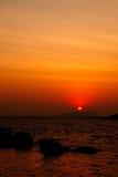 The sunrise Royalty Free Stock Photography