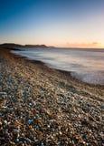 Sunrise in Dorset Royalty Free Stock Image