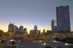 Sunrise in downtown Austin Royalty Free Stock Images