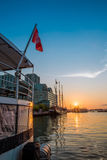 Sunrise at downtown Toronto Stock Photography