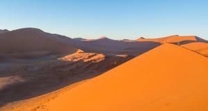 Sunrise at Dune 45, Namib Desert, Namibia Royalty Free Stock Image