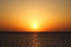 Sunrise in Egypt stock images