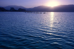 Sunrise in Eilat Royalty Free Stock Image