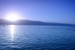 Sunrise in Eilat Royalty Free Stock Photography