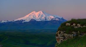Sunrise, Elbrus Royalty Free Stock Photo