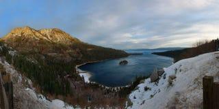 Sunrise, Emerald Bay, California Royalty Free Stock Photo