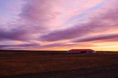 Sunrise on estancia Royalty Free Stock Images