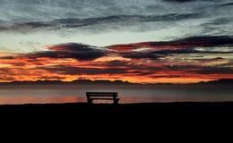 Sunrise On False Bay Stock Photo