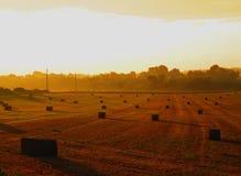 Sunrise at the Farm Royalty Free Stock Image