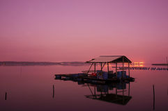 Sunrise on Fisherman Jety Royalty Free Stock Photos