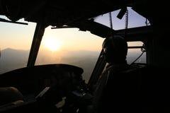 Sunrise  flight Royalty Free Stock Image