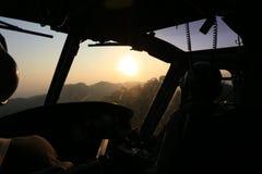Sunrise  flight Royalty Free Stock Images