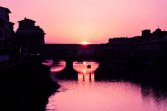 Sunrise in Florence Stock Photo