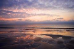 Sunrise in Florida. A sunrise off the Florida coast Stock Images