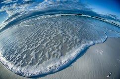 Sunrise at the florida beach royalty free stock photo