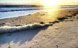 Sunrise at Florida Beach Royalty Free Stock Photos