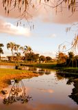 After sunrise in Florida Stock Photo