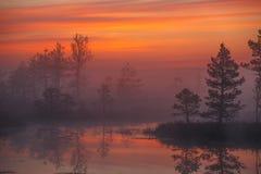 Before sunrise Stock Images