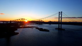 Sunrise on the forth Royalty Free Stock Photography