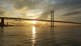 Sunrise on the forth Royalty Free Stock Photo