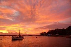 Sunrise at Four Mile Bridg Stock Images